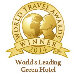 WTA - World's Leading Green Hotel 2014