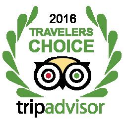 Trip Advisor - Travelers Choise 2016